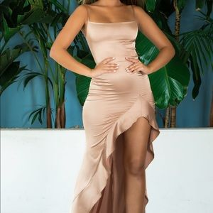 abyss by abby rose gold dress